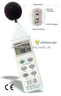台湾群特CENTER322声级计   音量计