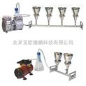 多聯不銹鋼溶液過濾器/六聯不銹鋼全自動溶液過濾器/懸浮物抽濾裝置/不銹鋼過濾器