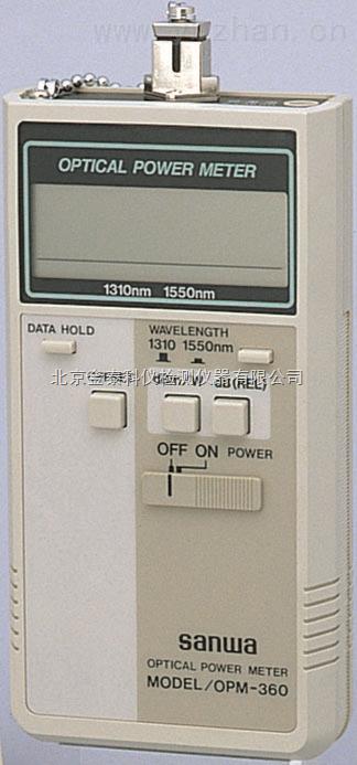 河北光纖功率計OPM360|功率計價格是多少找北京金泰科儀