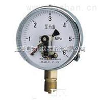 YXC-152B-FZ耐蚀抗振磁助电接点压力表上海自动化仪表四厂