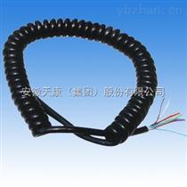 七芯汽车螺旋电缆