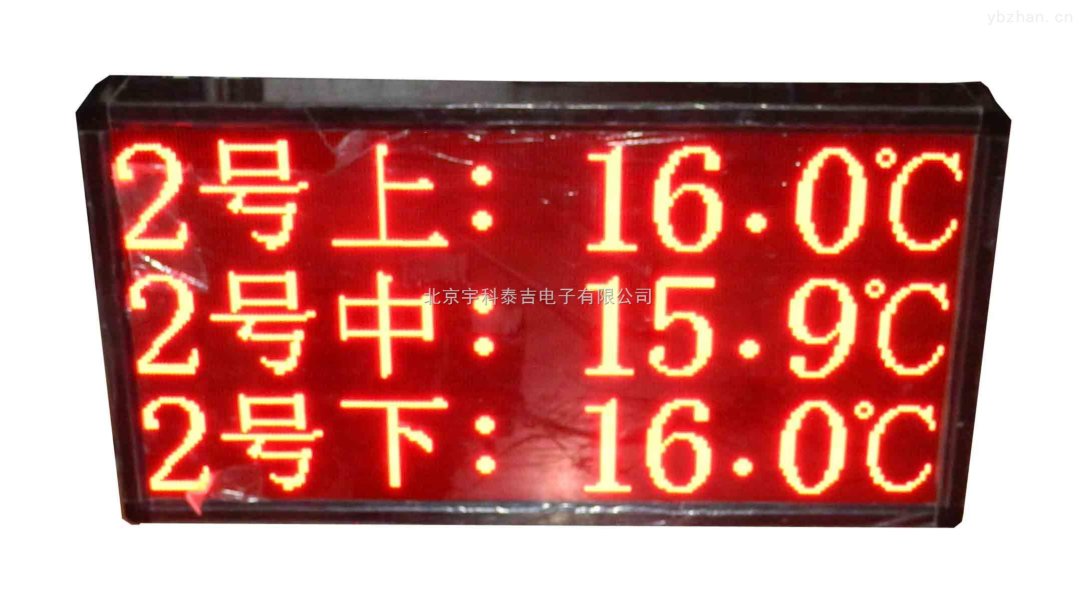 大屏幕溫濕度通訊測控儀
