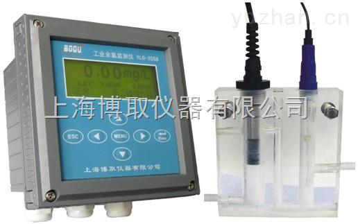 自来水厂在线余氯检测仪,PH计,温度