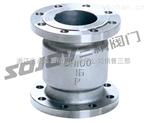 止回閥圖片系列:H42H/W不銹鋼法蘭立式止回閥