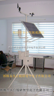 多要素小型自动气象站在农业上的应用