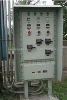户外防爆配电箱带防雨罩/非标防爆照明动力配电箱