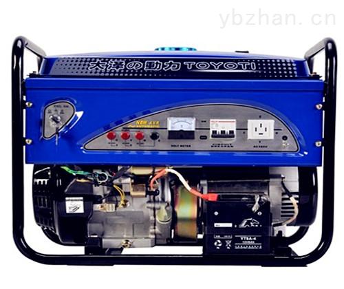 三相发电机仪表线接线图