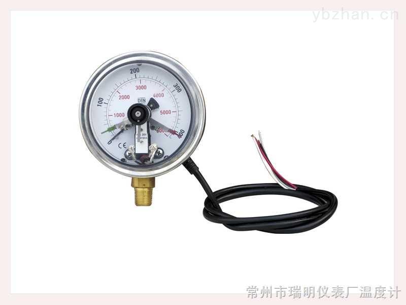 仿進口電接點壓力表(徑向型)