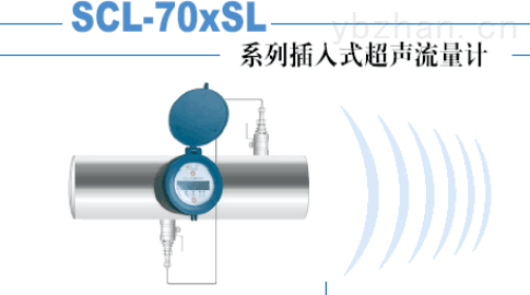 HXSCL-70XSL系列插入式超声流量计系列