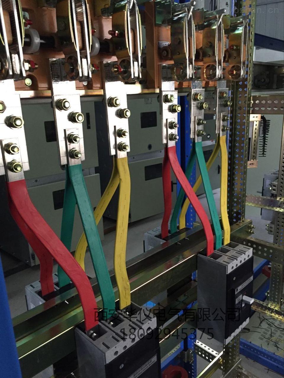 商品房配电柜接线实物图
