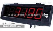 上海耀华XK3190—YHL5寸塑壳防水显示屏