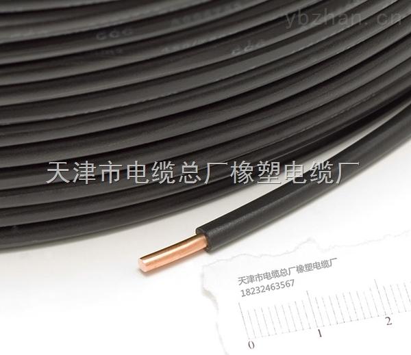 """BV6平方铜芯线单芯线 生产厂家:天津市电缆总厂橡塑电缆厂 BV线简称塑铜线,名称为:一般用途单芯硬导体无护套电力电缆。  BV6平方毫米单芯线:是指铜芯的截面积为6平方毫米,铜芯的直径为2.76毫米。 家装6平方毫米单芯线,一般作进户线用。颜色有多种.具体据需要来搭配。进户线是由3种颜色组成的,也就是相线、零线和接地线。习惯上""""相线""""为红色,""""零线""""为蓝色,""""接地线""""为双色。BV6平方铜芯线单芯线 重量:6."""