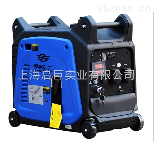 罗飒3KW电启动数码变频发电机