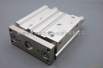 smc帶導桿氣缸,CXSJL20-60/75/80/90/100/125/150雙聯氣缸 雙軸氣缸