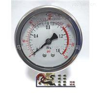 Y60径向耐震压力表