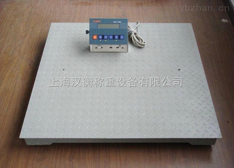 鹿泉一吨带电脑串口地磅称厂家供货