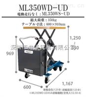 直销日本HANAOKA花冈台车ML1000-02堆高车工具车货运设备