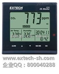 EXTECH CO100 空气质量测定仪,CO100 桌面室内空气质量测定仪