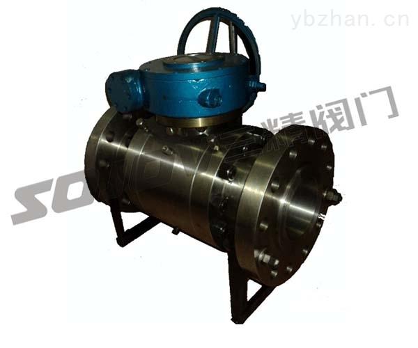 高壓球閥鍛鋼球閥大口徑球閥Q347F固定球閥