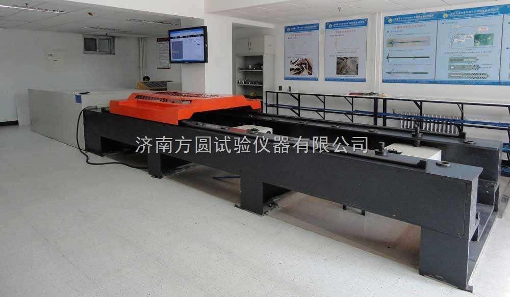 建筑铁管件卧式拉伸试验机液压控制可加长