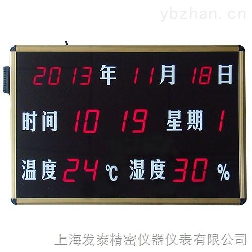 环境信息温湿度显示屏