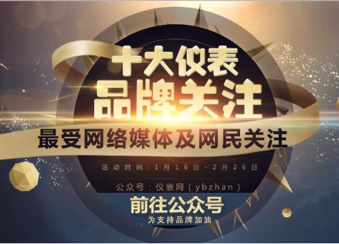 """2016""""十大仪表品牌关注""""温度仪表投票入口已开通"""