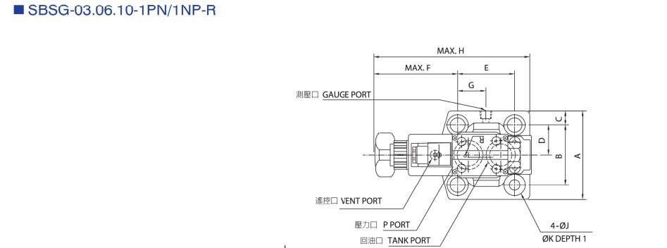 台湾cml全懋低噪音电磁式溢流阀sbsg-03-1pn-3-r