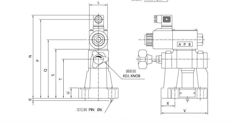 台湾cml全懋背压阀mca-06 台湾cml全懋低噪音电磁式溢流阀sbsg-03-1pn图片