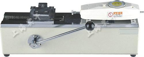 手动卧式测试台图片 (配SGNK指针推拉力计实验图)