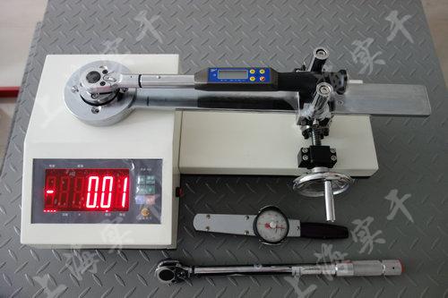SGXJ扭力扳手校验仪图片 (校验数显扭力扳手效果图)
